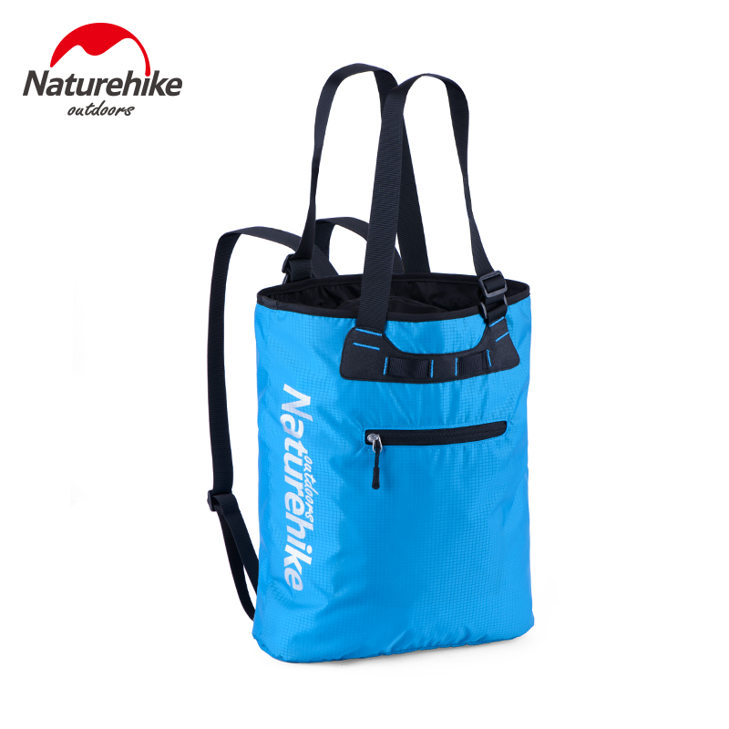 Naturehike 15L Multifunction Women's Handbags Travel backpack Outdoor Bag Camping Hiking Men's Backpacks Sports Bag NH16Y015-T