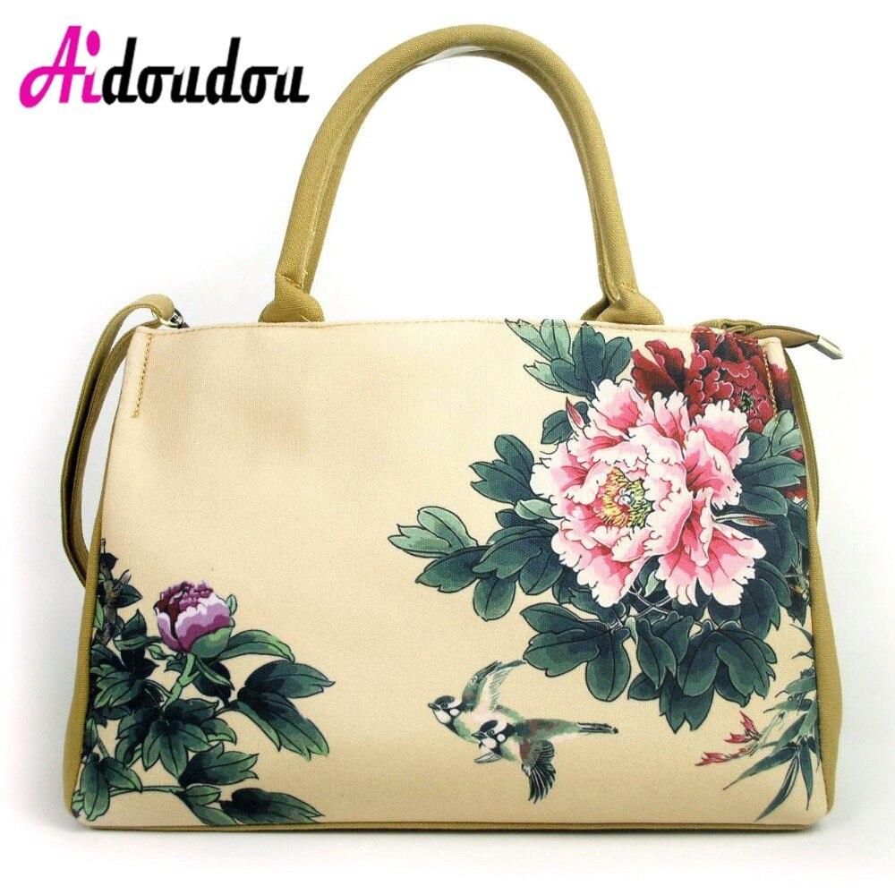 Для женщин Дорожные сумки Красочные цветы большой Ёмкость Для женщин ручной Чемодан сумки холст 2018 мумия сумки