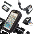 Ciclismo motocicleta de la bicicleta de rotación titular de montaje a prueba de agua bolsa del teléfono case bolsa para iphone 7 smartphone teléfono móvil teléfono móvil