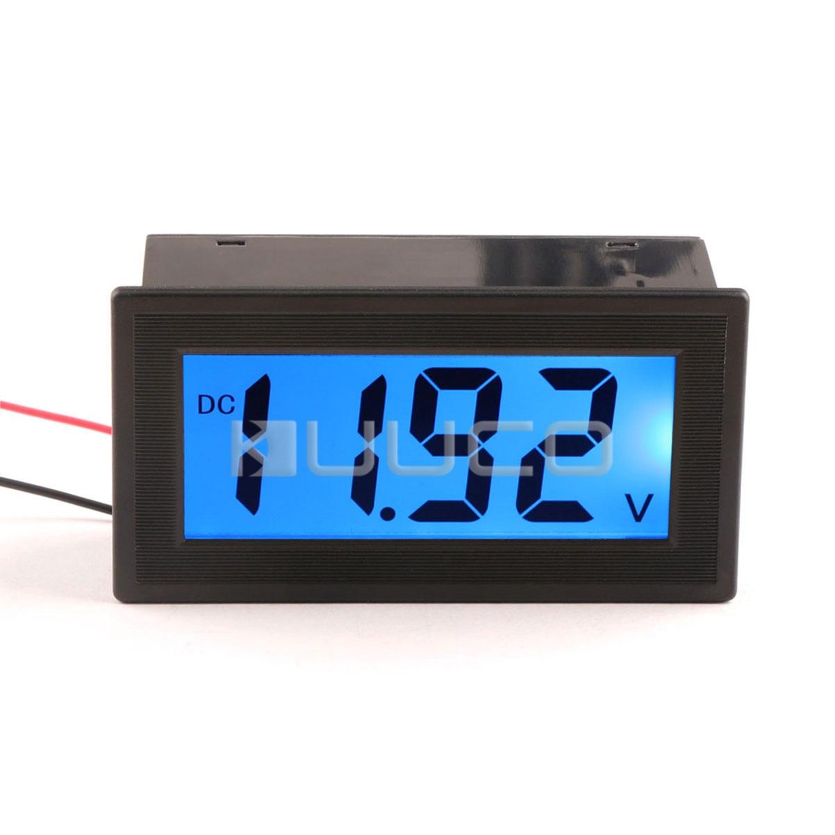 In Dash Digital Voltmeters : Car e bike electromobile voltage meter tester dc v