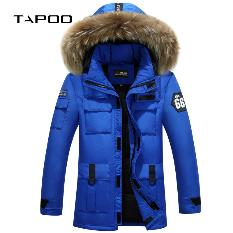 Punctual Kolmakov 2018 New Winter Mens Duck Down Jackets Men Cold Protective Top Quality Youth Thickening Fur Hooded Down Coats M-xxxl Jackets & Coats