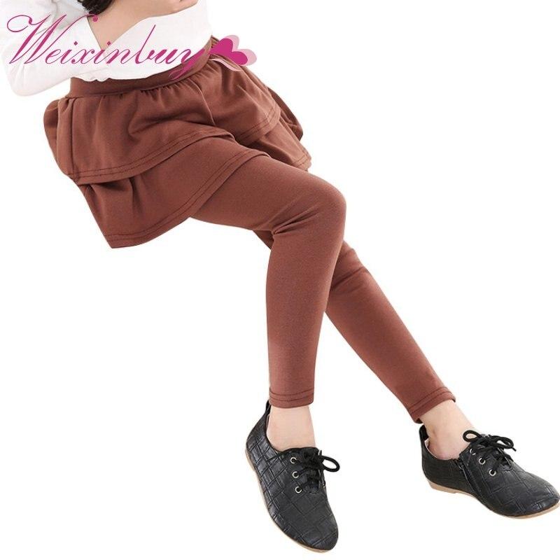 Kids Leggings Spring Autumn Girls Leggings Girls Skirt
