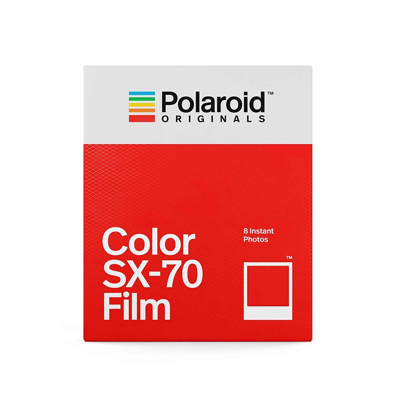 Originaux couleur SX-70 Film 8 feuilles Photos instantanées blanc cadre papier pour Vintage SX-70 boîte Type 1000 caméras - 2
