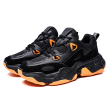 Mens Shoes 2019 New Fashion Sneakers Men Breathable Lace Up Casual Shoes For Man Comfortable Mesh Flat Shoes tenis masculino