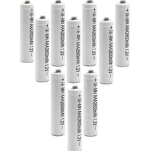 8/10PCS/lot Ni-Mh TBUOTZO AAA battery  NI-MH 1.2V aaa Rechargeable 2600mAh 3A Neutral Battery