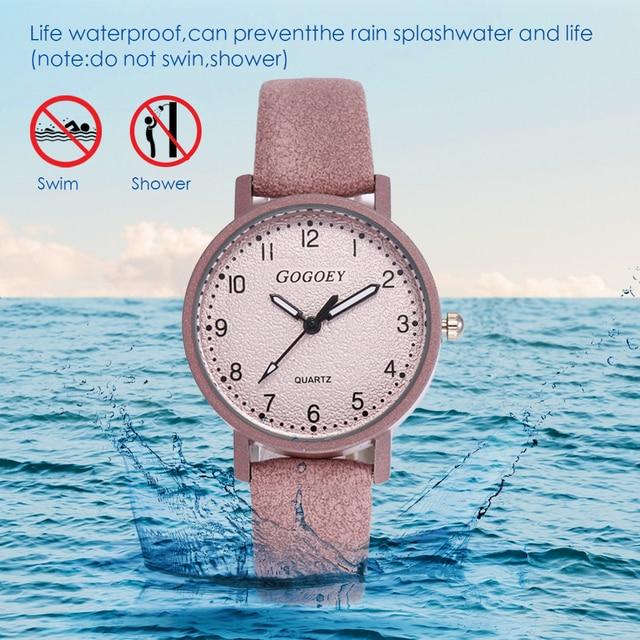 FUNIQUE 2019 Vintage Leather Strap Watches Women Luxury Ladies Watch Bracelet Quartz Wristwatch Women's Gift Clock Montre Femme
