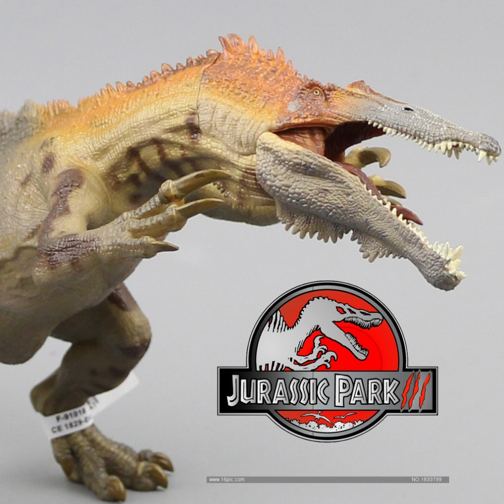2016 Papo New Baryonyx De mest klassiska antika varelserna Simulering Animal Toy Collection Dinosaur