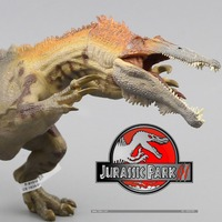 2016 יצורים Baryonyx פאפו חדש עתיק הקלאסי ביותר אוסף צעצוע חיה סימולציה דינוזאור