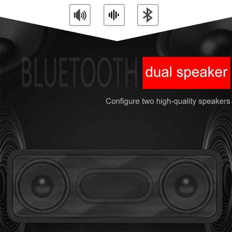 Dsstyles Bluetooth Speaker Stereo Portabel Multimedia Laptop USB Speaker Mendukung Bluetooth Ponsel