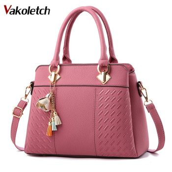 Designer Ladies Hand Bags High Quality PU Leather Shoulder Bag Fashion Women Handbags