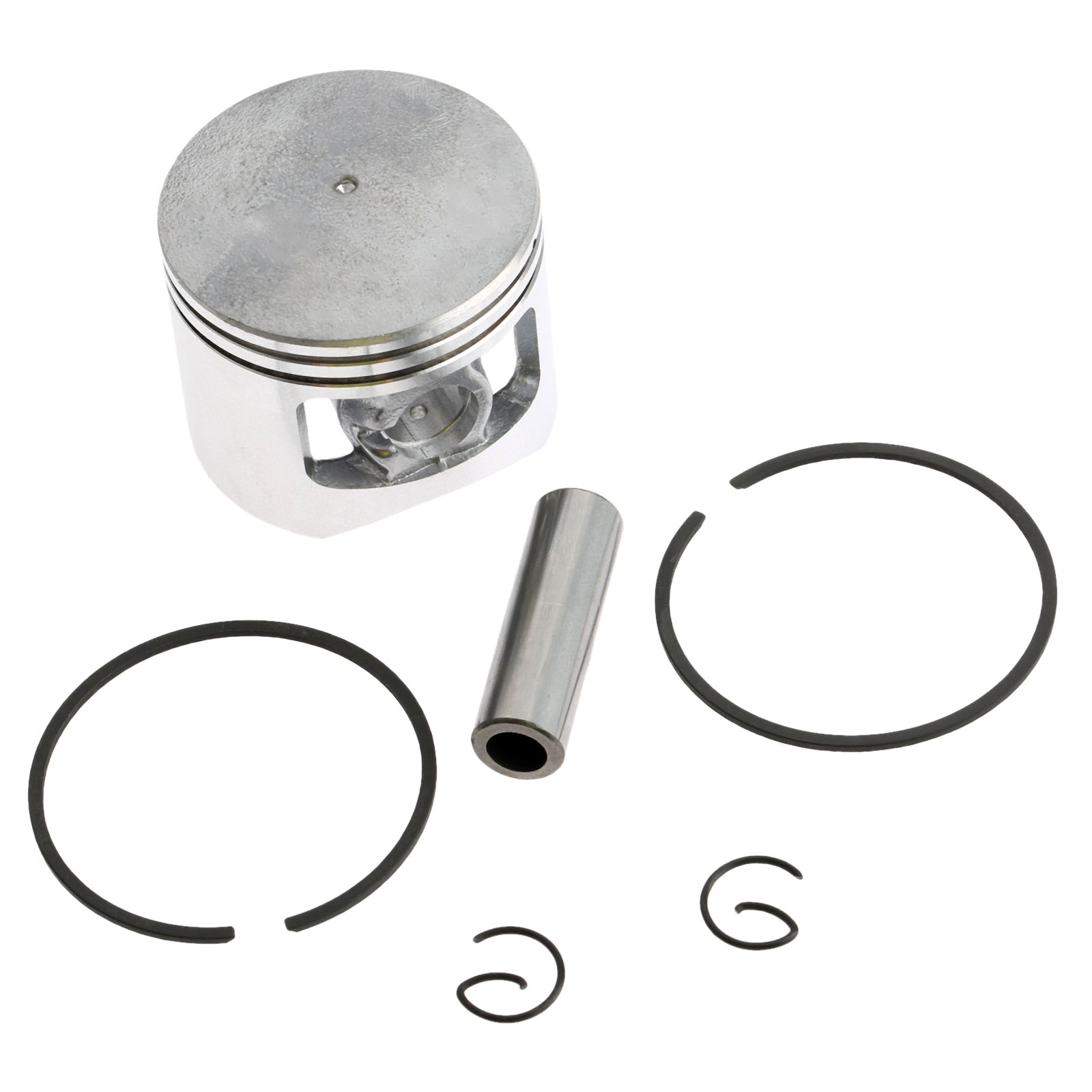 45mm Piston Kit Garden Tool Parts 5200 Chainsaw Piston Assy Set with Ring and Pin for STIHL 018 MS180 CHAINSAW Spare Parts New 38mm cylinder piston rings needle bearing kit for stihl ms180 ms 180 018 chainsaw