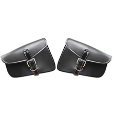 1200 Motorcycle saddle bag left and right motorcycle accessories triangle For Harley Davidson iron XL 883 Sportster