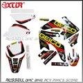 Crf50 sticker gráficos de motocicletas Honda CRF50 suciedad pit bike estilo de piezas de repuesto