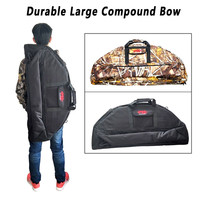 Archery Hunting Compound Bow Bag Padded Layer Foam Bow Holder Arrow Tube Protect Bow and Arrow Hunter Bow Archery Case 95-115cm