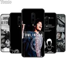 Silicone TPU Case for Oneplus 7 7 Pro 6 6T 5T Black Soft Case for Oneplus 7 7Pro Phone Cover Shell Louis Tomlinson