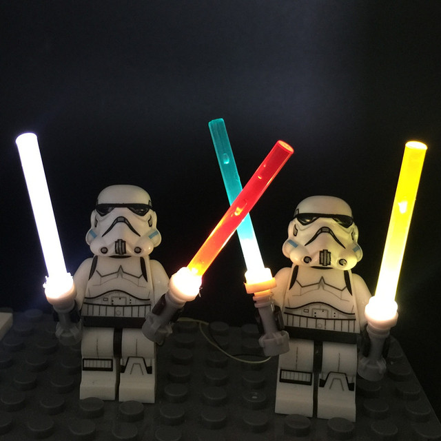 Aliexpress.com : Buy LED light up kit 4 in1 lightsaber for ...