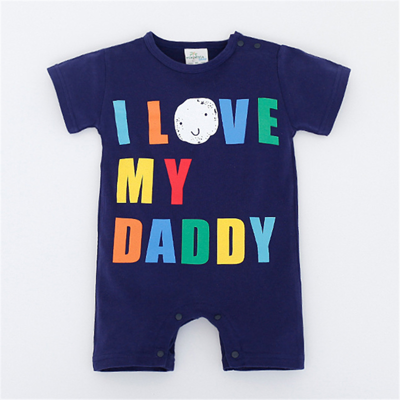 Baby Rompers Summer Baby Boy Clothing Sets 2017 Newborn Baby Clothes Roupas Bebe Infant Jumpsuits Baby Boy Clothes Kids Clothes baby rompers halloween baby girl clothes spring newborn baby clothes cotton baby boy clothing roupas bebe infant jumpsuits