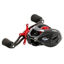 Top Quality Black Carbon Fiber Super Light 169g 6 4 1 Fishing Reel 2 Brake Systems
