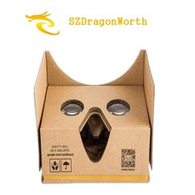 1pcs New Google cardboard 2.0 Plastic Virtual Reality VR 3D glasses for 3.5-6 Smart phone  enjoy 3D Games Movies