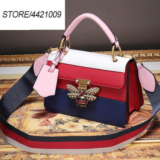 2019new Designer Luxury Brands Bag Women Handbag Cow Leather Bee Shoulder Crossbody Bags Multifunction Bag bolsa feminina2019new Designer Luxury Brands Bag Women Handbag Cow Leather Bee Shoulder Crossbody Bags Multifunction Bag bolsa feminina