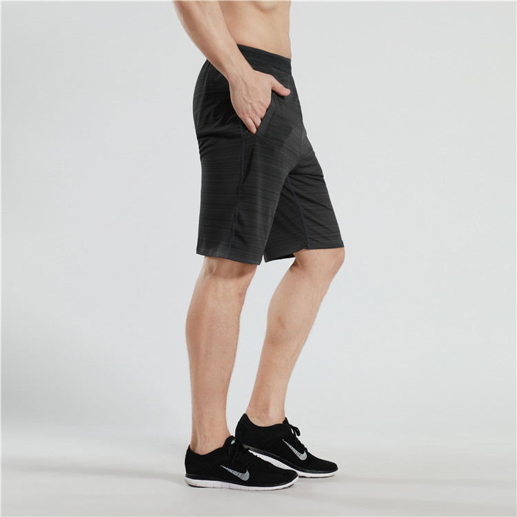 Running Shorts Men Quick Dry Comfort Sports Fitness Training Marathon Shorts Men Gym Sport with Zipper Pocket Plus Jogging Male