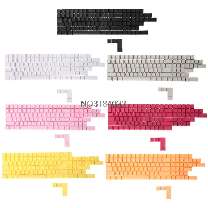 Blank 108 ANSI ISO layout Thick PBT Keycap For OEM s