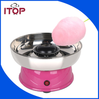 ITOP Electric DIY Sweet Cotton Candy Maker Machine MINI Portable Cotton Sugar Floss Girl Boy Gift