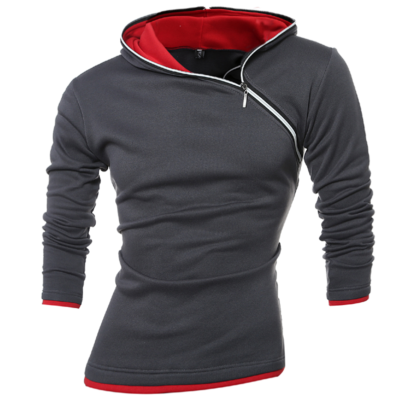 2018 Hoodies Men Sudaderas Hombre Hip Hop Mens ბრენდი დასვენება Zipper Jacket Hoodie Sweatshirt Slim Fit Men Hoody XXXL 339KS