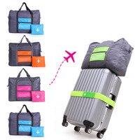 Große Kapazität Mode Reisetasche Für Mann Frauen Tasche Reise Tragen auf Gepäck Tasche Wasserdichte Nylon Folding laptop Tasche #10