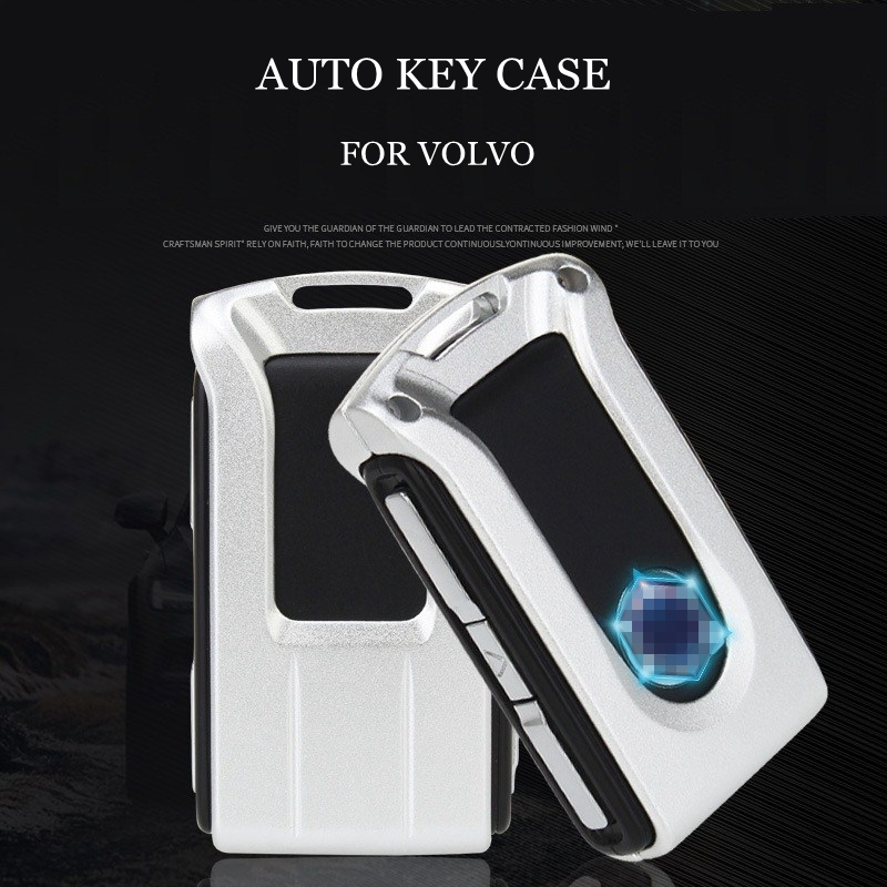 Aluminum Alloy Car Key Protecting Shell Key Covers Case For Volvo V90 XC90 S90 Auto Accessories
