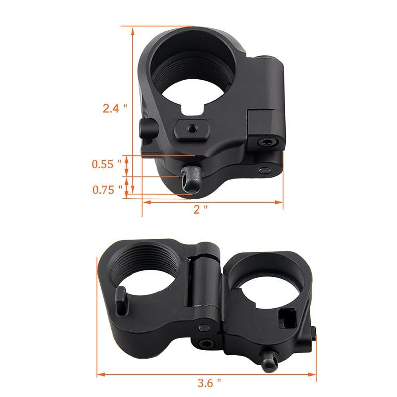 AR Folding Stock Adapter For M16M4 SR25 Series GBB(AEG) RL2-0042-07