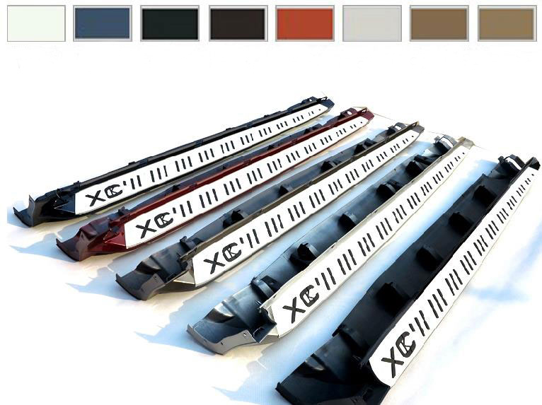 12 Colors Aluminium Running Board Side Step Nerf Bar Suitable FIT FOR VOLVO XC60 2013 2017|side step nerf bars|nerf bars|running boards - title=