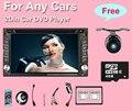 Универсальный 2 din dvd-плеер Автомобиля GPS + Wi-Fi + Bluetooth + Радио Сенсорный Экран пк автомобиля + aduio