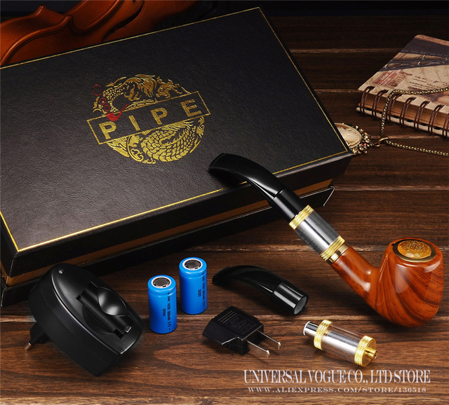 Best e Cigarette E-pipe 618 Electronic Cigarette Kits Vape Series Old-fashioned Smoking Pipe Style Starter Set Vaporizer BFX8005
