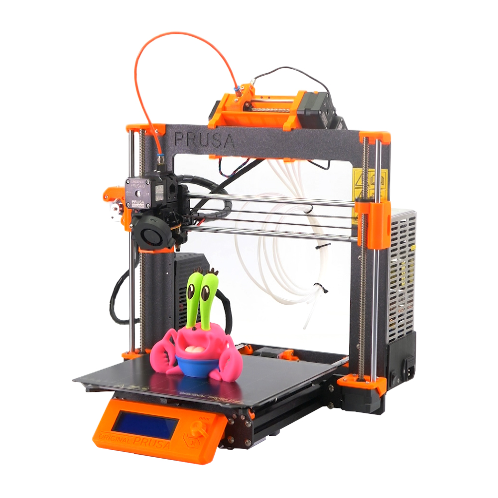Clone Prusa I3 MK3S Printer Full Kit With MMU2S Complete Kit Multi Material 2S Upgrade Kit 3D Printer DIY MK2.5/MK3/MK3S