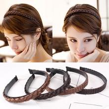 Sale Korean Headband Creative Fashion Hairpiece 1PC New Women Girls Braids Headwear Hair Wig Accessories Hot