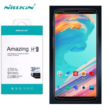 for Oneplus 5T Glass Screen Protector 6.01'' NILLKIN Amazing H/H+PRO 9H Tempered Glass for Oneplus 5T glass protector