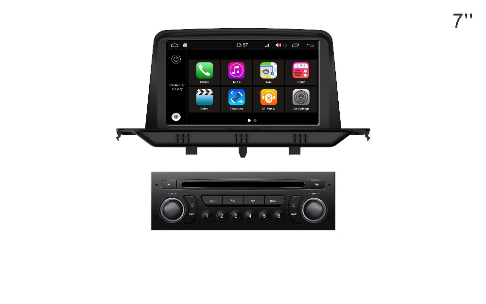s200 ips touch screen android 8 0 car dvd player for. Black Bedroom Furniture Sets. Home Design Ideas