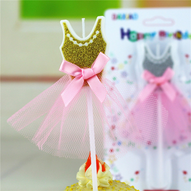 Wedding Party Decoration Candles Girl Dresses Design Party Cake