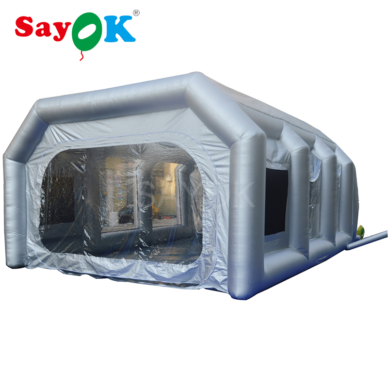 Portable Inflatable Spray Paint Booth Tent for Car MaintenancePortable Inflatable Spray Paint Booth Tent for Car Maintenance