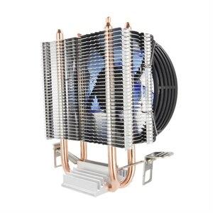 Image 4 - ALSEYE radiateur refroidisseur de processeur 2, 90mm ventilateur CPU, pour Intel LGA 775/1151/1155/et AMD FM2/FM1/AM3/AM2