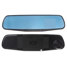2.8 pollice HD 720 p Auto DVR Della Macchina Fotografica Registrator Dash Cam Specchietto retrovisore Digitale Video Registratore di Visione Notturna Videocamera