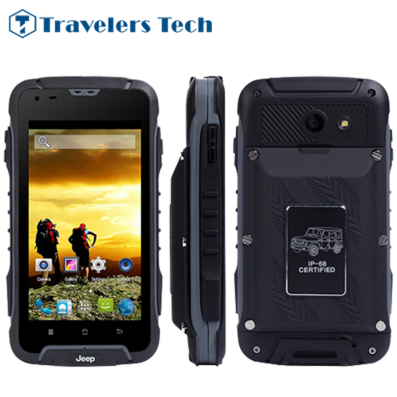 Original 12000mah Big Battery JEEP F605 IP68 Waterproof Rugged font b Smartphone b font dual core