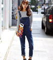 women's clothing S-XL 2017 Women Plus Size Summer Denim Jumpsuit Overalls Casual Jeans Romper 9775