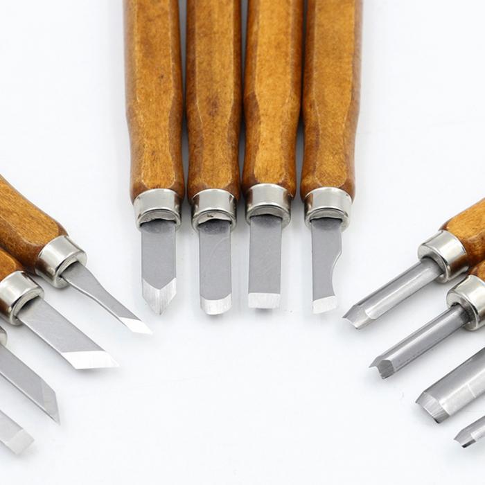 Wood Carving 12pc Chisel Set