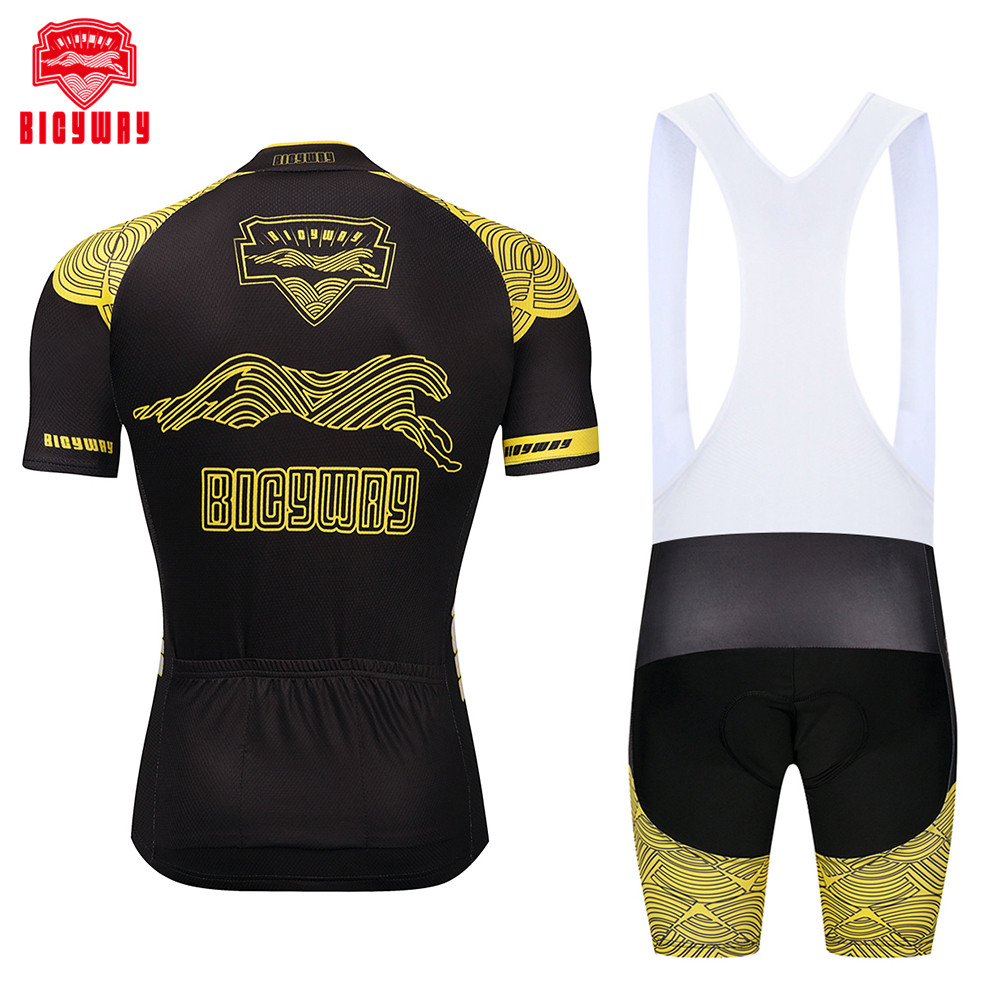 e60e51c3e Bicyway 100% breathable Cycling jersey 2018 bicycle ropa ciclismo bike  sport men cycling clothing short sleeve maillot ciclismo-in Cycling Sets  from Sports ...