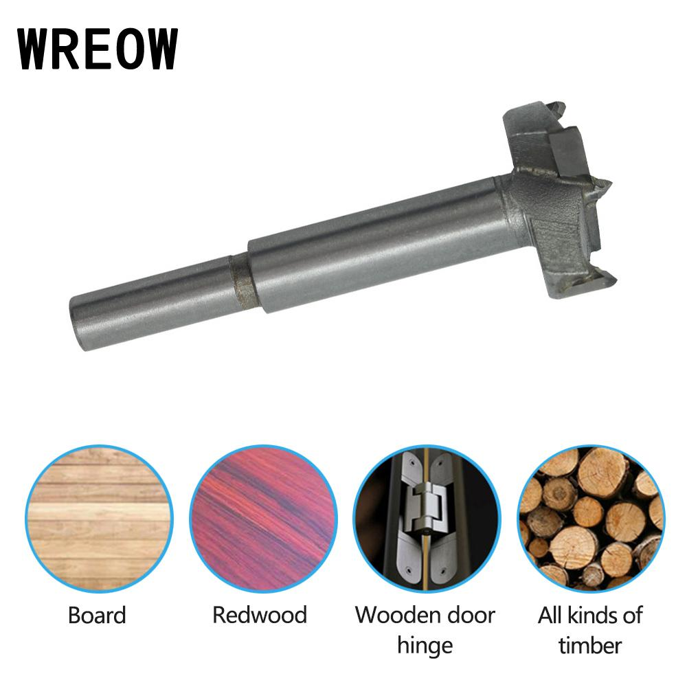 15mm-45mm Forstner Wood Drill Bit Self Centering Hole Tungsten Saw Cutter Woodworking Tools Set Carbon Steel Forstner Drill Bit
