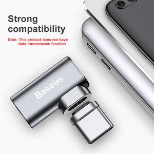 Image 5 - Baseus USB סוג C כבל סוג C מגנטי מתאם עבור Macbook סמסונג s8 s9 OnePlus 5 5T 6 מהיר טעינה מגנט USB C מחבר