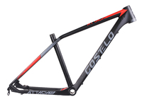Costelo Attack XC Pro Mountain MTB Bicycle Carbon Frame Torayca UD Carbon Fiber Bicycle Frame