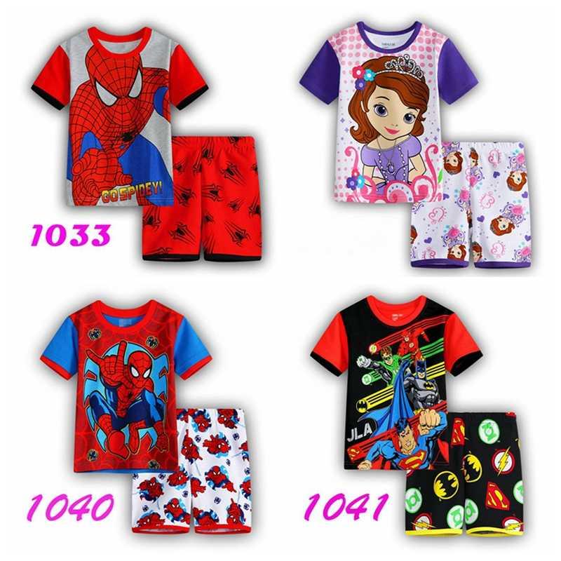 Novo quente das Crianças cueca Para Dormir Conjunto Pijama Roupa Do Bebê Sleepwear Meninas sem mangas ves Princesa Pijamas Crianças Desgaste Casa